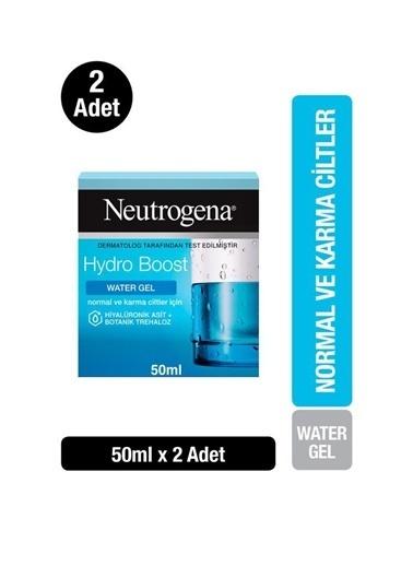 Neutrogena Hydro Boost Water Gel Nemlendirici Normal Cilt 50Mlx2 Renksiz